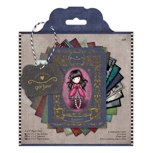 6 x 6 Paper Pack (32pk) - Simply Gorjuss