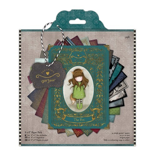 8 x 8 Paper Pack (32pk) - Simply Gorjuss