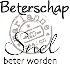 cs0894 Clear stamp beterschap