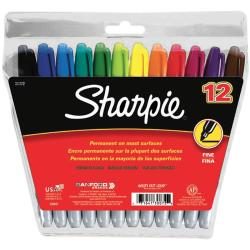 Sharpie Fine Point Permanent Markers 12/Pkg