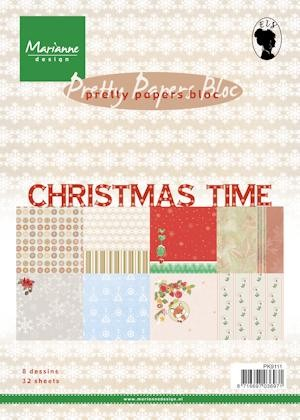 pk9111 Pretty Papers bloc Christmas Time