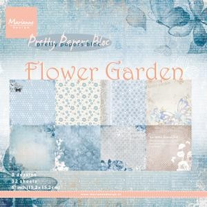 pk9112 Pretty Papers bloc Flower Garden