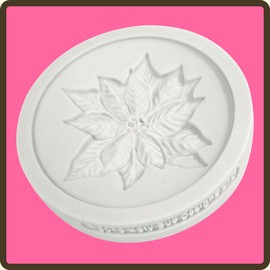poinsetta cake mould