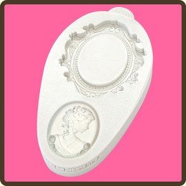 oval cameo and oval frame