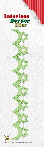 Interlace border dies - Christmas Stars