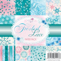 Wild Rose Studio`s 6x6 Paper Pack Frosted Lace a 36 VL