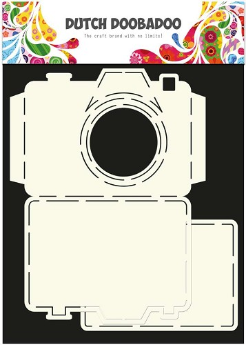 Dutch Doobadoo Dutch Card Art stencil Camera A4