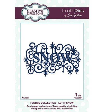 Craft Dies - Let it Snow