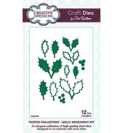 Craft Dies - Holly Accessory Kit