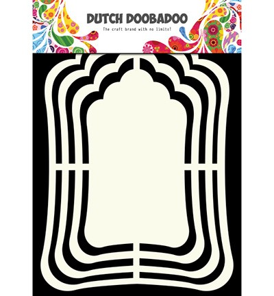 Shape Art - Dutch Shape Art Label Mirror