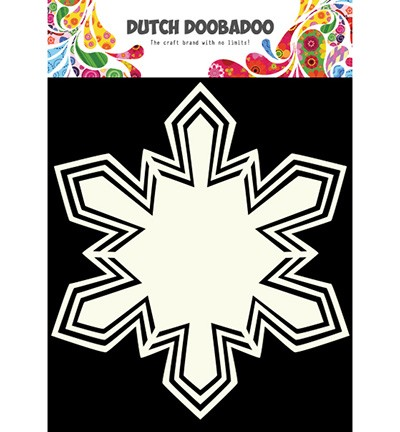 Shape Art - Dutch Shape Art Snowstar