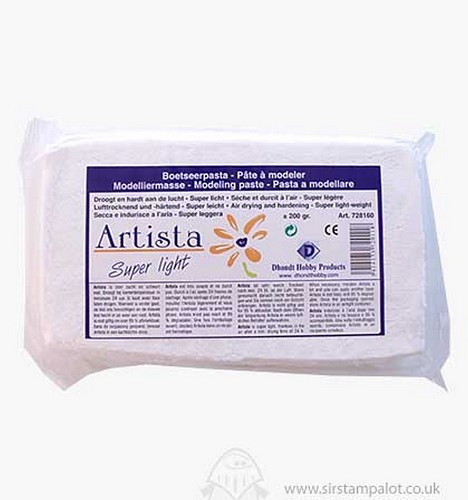 Artista Super Light Air Drying Modelling Clay