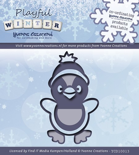 Die - Yvonne Creations - Playful Winter - Pinquin