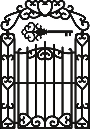 cr1304 Marianne D Craftable Garden Gate