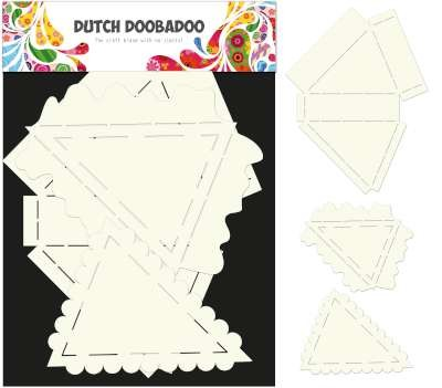 Dutch Doobadoo Dutch Card Art Stencil taartpunt verpakking A4