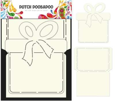 Dutch Doobadoo Dutch Card Art Stencil cadeau verpakking A4