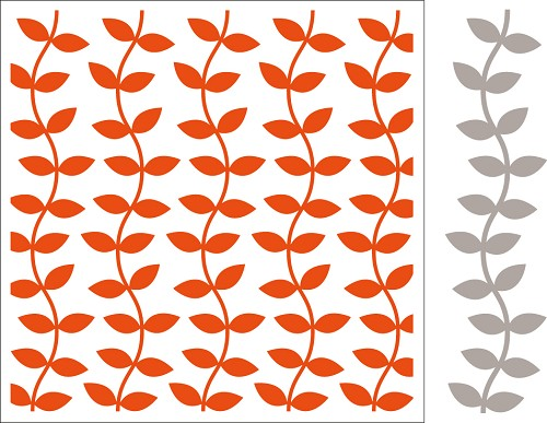 df3414 Marianne D Embossing folder + die Leaves