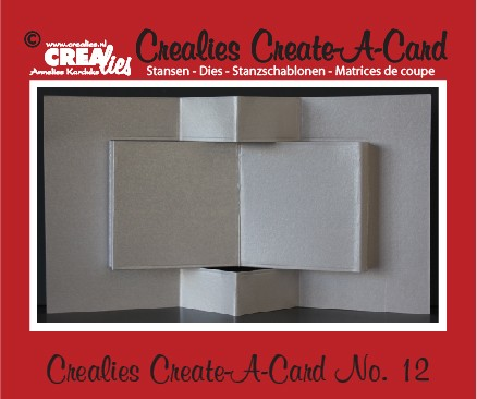 Crealies Create A Card no. 12 stans voor kaart