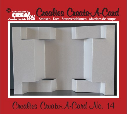 Crealies Create A Card no. 14 stans voor kaart