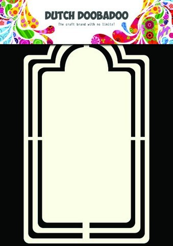 Dutch Doobadoo Dutch Shape Art frames label A5