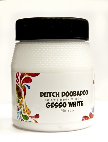 Dutch Doobadoo Dutch Gesso wit 250ML