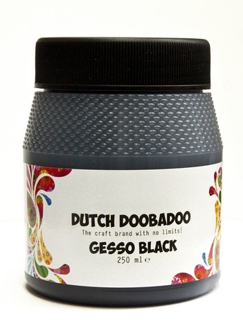 Dutch Doobadoo Dutch Gesso zwart 250ML