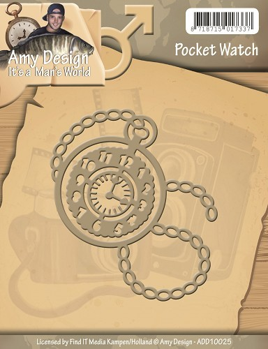 Die - Amy Design - Pocket Watch
