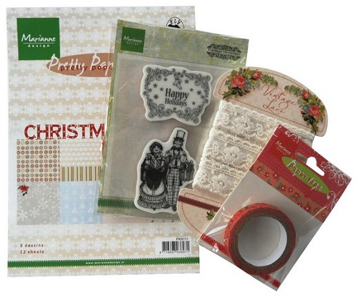 Marianne D Assortiment set Happy Holidays