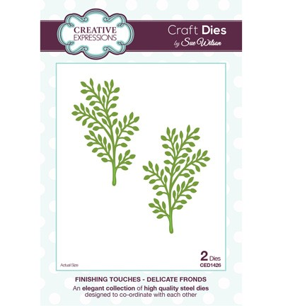 CED1426 - The Finishing Touches Collection - Delicate Fronds