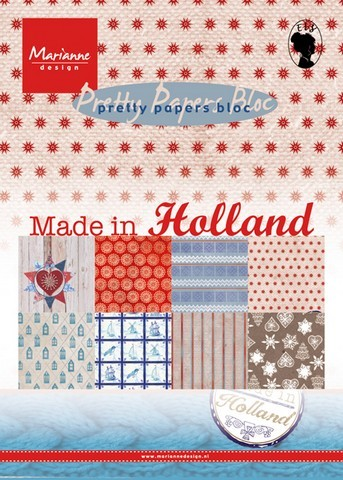 pk9126 Marianne D Paper pad Made in Holland