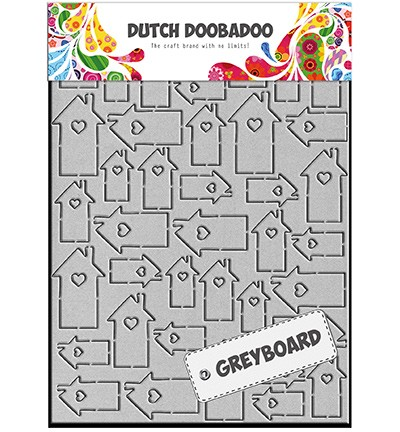 Dutch Doobadoo Greyboard - Greyboard Art Houses