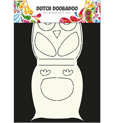 Dutch Doobadoo Dutch Card Art - Dutch Card Art Owl