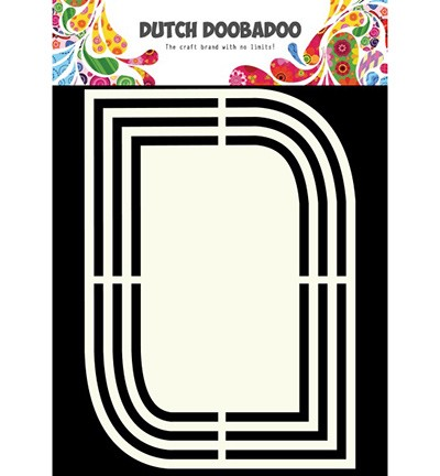 Dutch Doobadoo Dutch Shape Art - Dutch Shape Art Teardrop