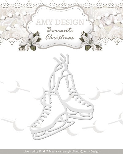 Die - Amy Design - Brocante Christmas - Figure Skates