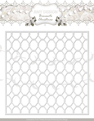 Die - Amy Design - Brocante Christmas - Wire Frame