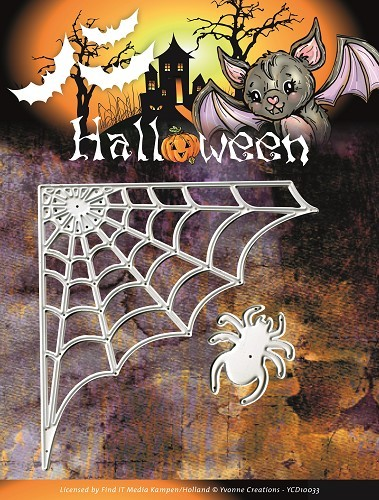 Die - Yvonne Creations - Halloween - Spider Web