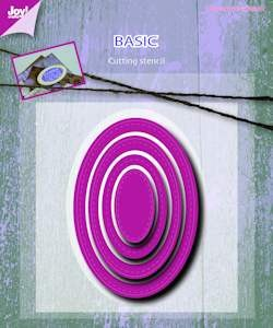 6002/0490 Joy! stencil basic Mery oval