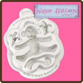 Sugar Buttons - Monkey