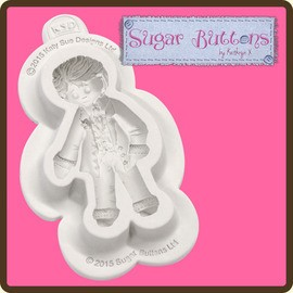 Sugar Buttons - Groom