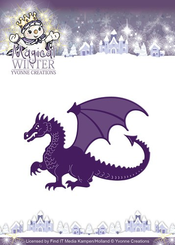 Die - Yvonne Creations - Magical winter - Dragon