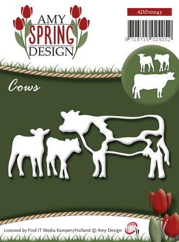 Die - Amy Design - Spring - Cows