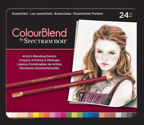 Spectrum Noir ColourBlend Pencils - Essentials 24pcs