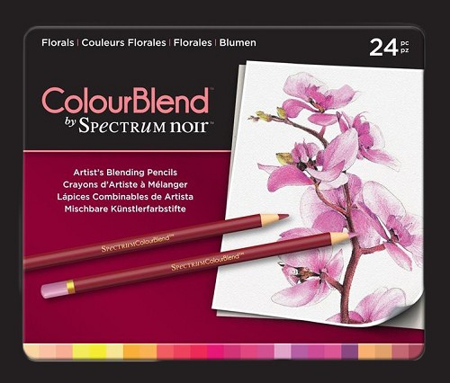 Spectrum Noir ColourBlend Pencils - Florals 24pcs