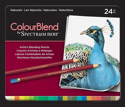 Spectrum Noir ColourBlend Pencils - Naturals 24pcs