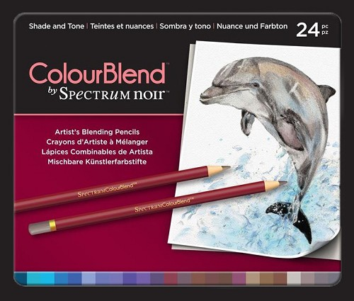 Spectrum Noir ColourBlend Pencils - Shade and Tone 24pcs