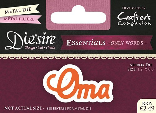 diesire - essentials only words - oma