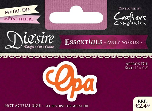 diesire - essentials only words - opa