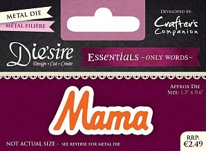 diesire - essentials only words - mama