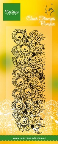 tc0836 Marianne D Stempel sunflowers