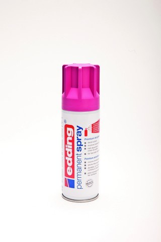 edding-5200 permanent spray  telemagenta mat 200ml